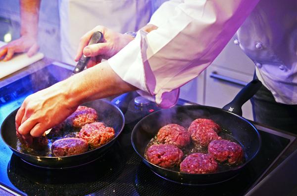 Bison-Bouletten für die Burger