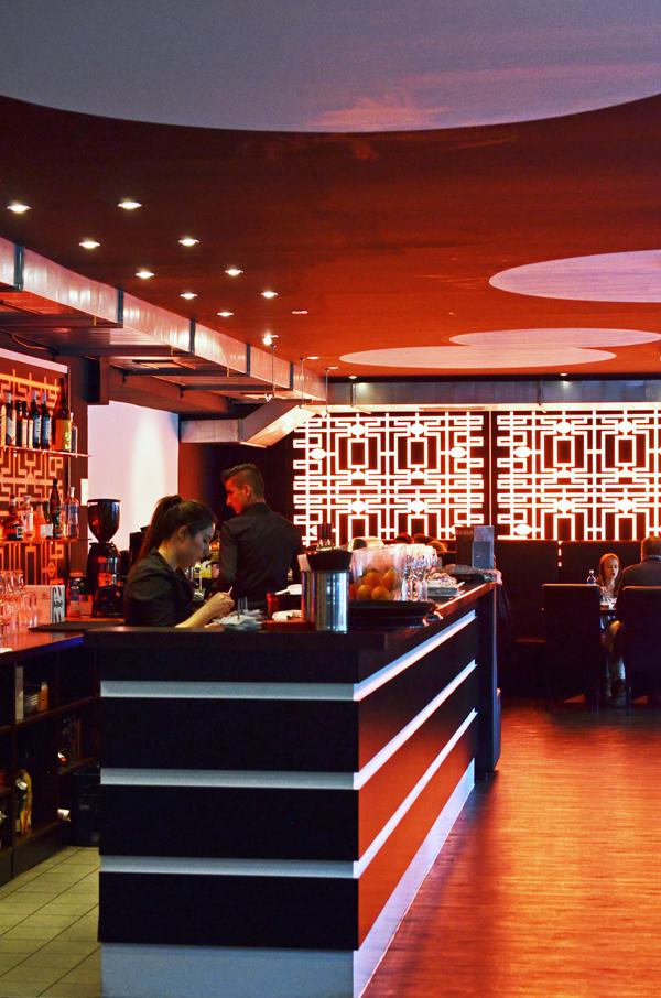 Die Bar der Tokyo Lounge