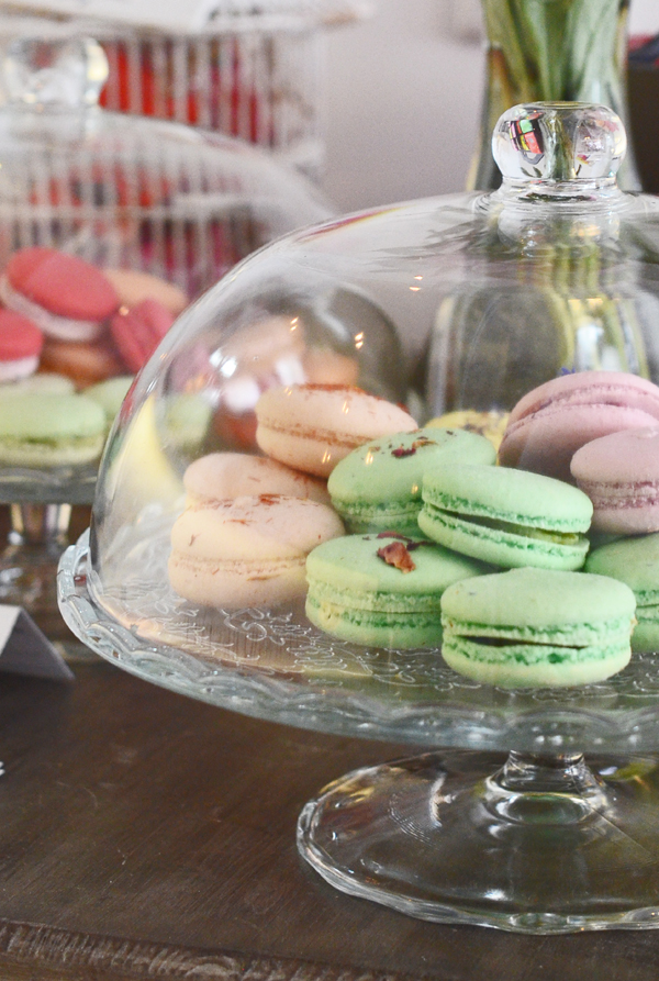 Macarons in der Düsseldorfer Genusswerkstatt