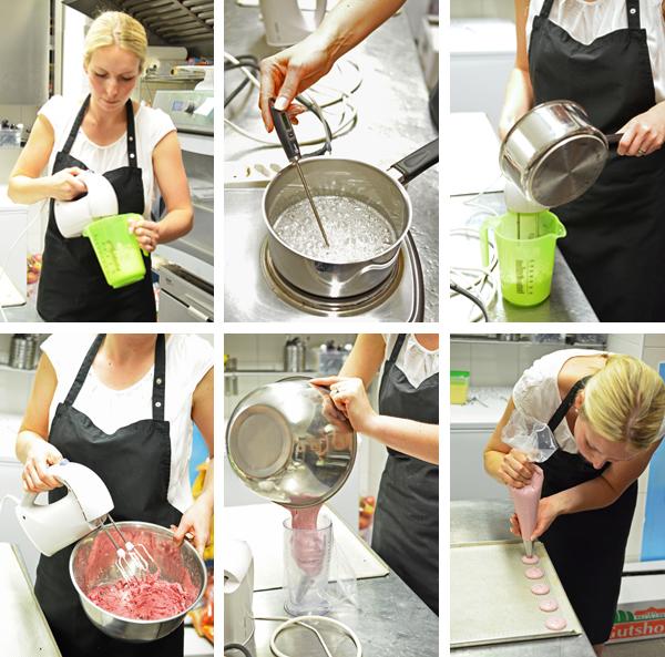 Macarons backen - Rezept und Anleitung step by step