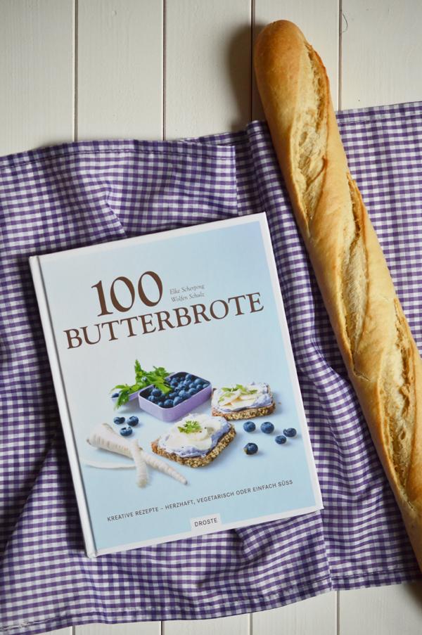 Kochbuch 100 Butterbrote aus dem Droste Verlag