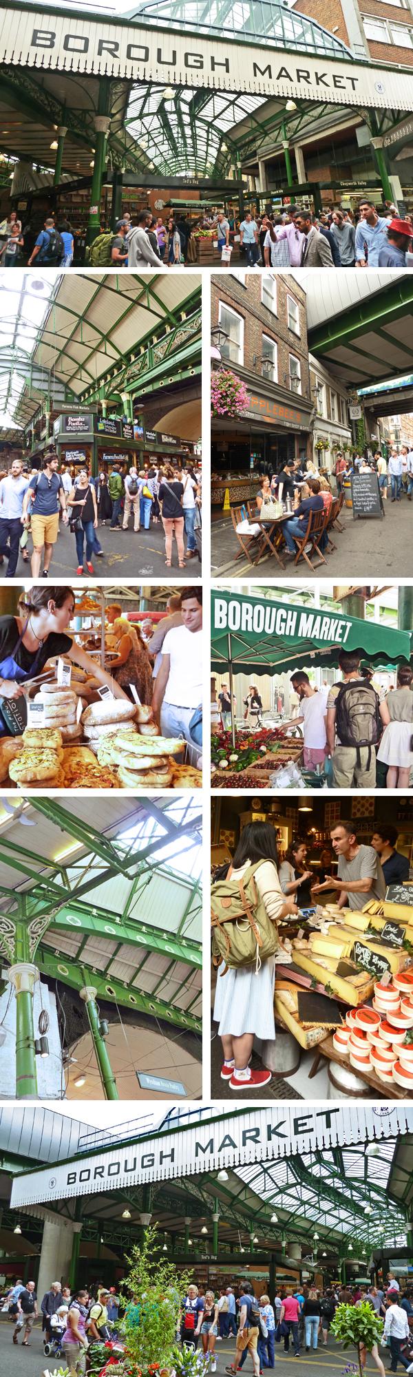 Impressionen vom Londoner Borough Market