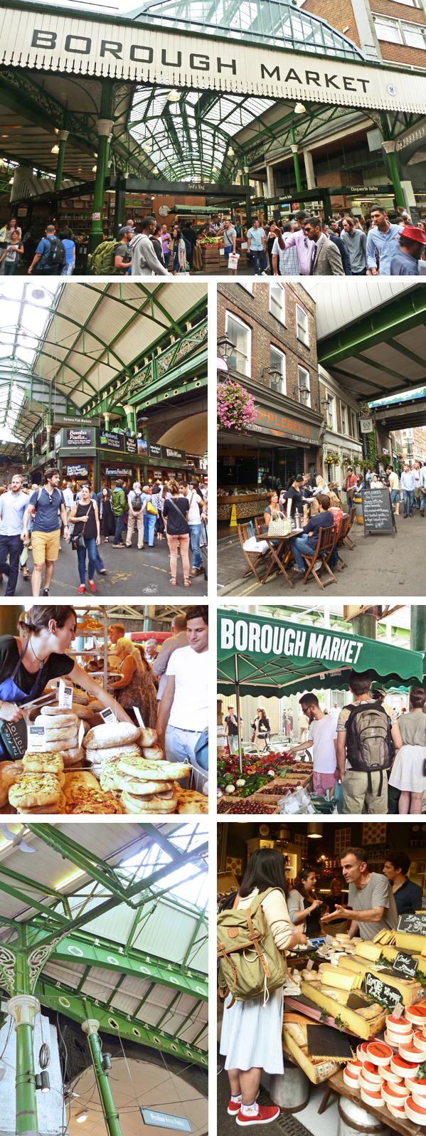 Impressionen vom Londonder Borough Market