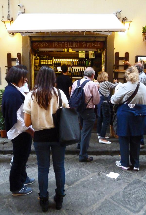 I Due Fratellini - Kultverdächtiger Panini-Laden in Florezn