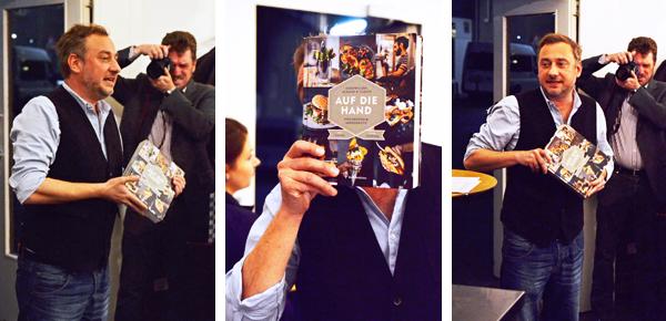 """Stevan Paul, Blogger und Buchautor, stellt sein neues Kochbuch """"Auf die Hand"""" vor"""