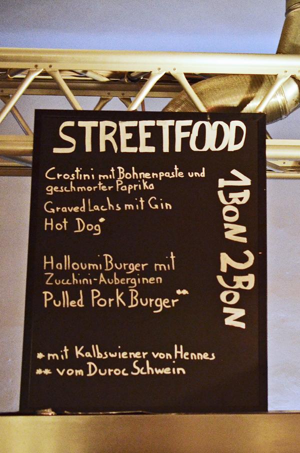 Streetfood-Gerichte im Kölner Marieneck