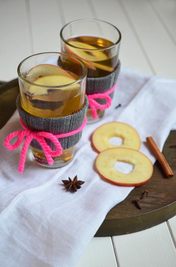 Rezept für selbstgemachten Apfelglühwein