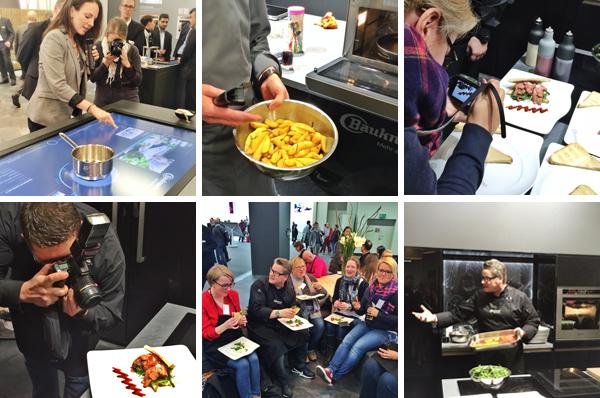EIndrücke von Bauknecht-Foodstyling-Workshop mit Meeta K. Wolff