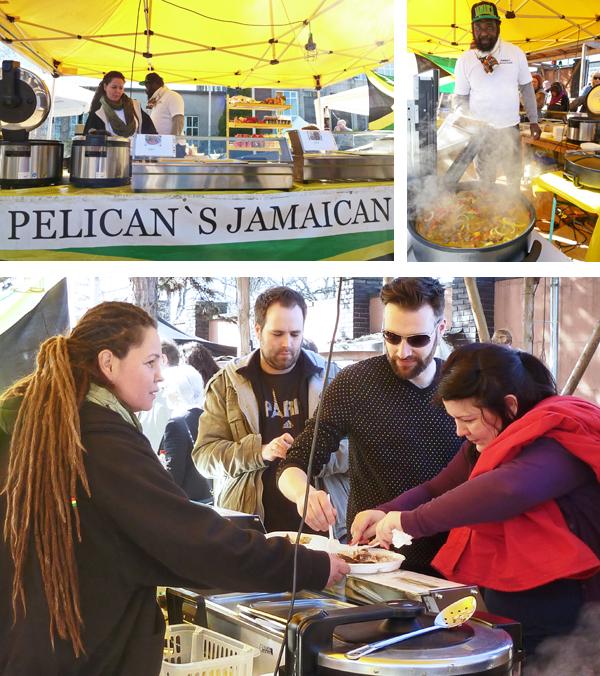 Jamaicanische Eintöpfe beeim Düsseldorfer Street Food Festival