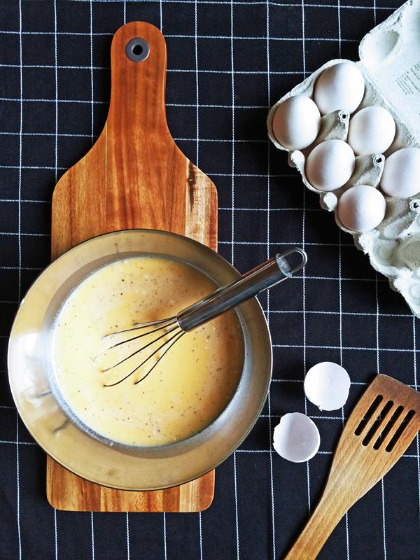 Frittata - die Zubereitung