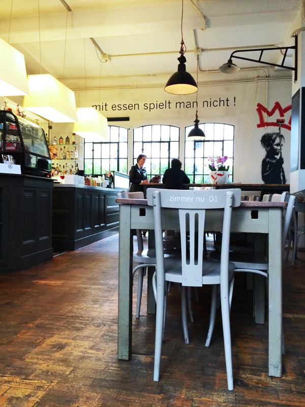 Restaurant Zimmer Nr.1 in Düsseldorf