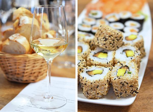 Welcher Wein passt zu Sushi?