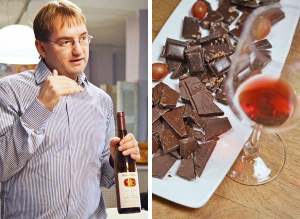 Foodpairing: Rotwein zu Schokolade