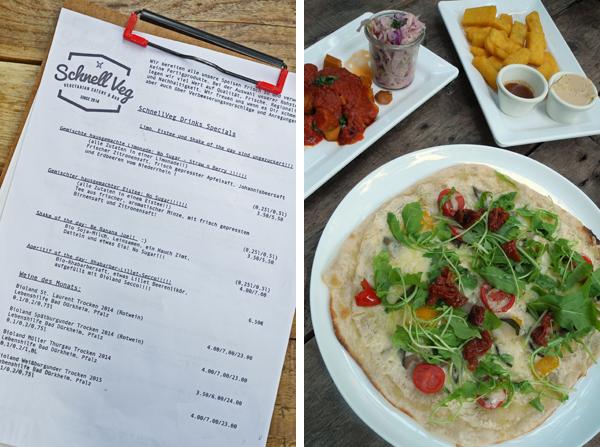 Restaurant-Tipp für Vegetarier und Veganer: Das SchnellVeg in Düsseldorf