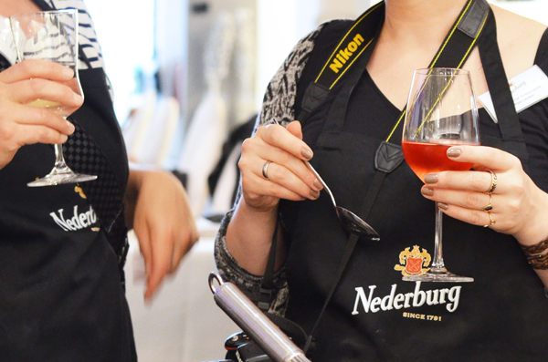 Weinverkostung und KKochkurs mit Nederburg und Nelson Müller